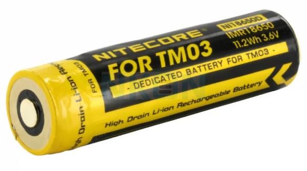 Nitecore TM03 NL18650D 3100mAh - 10A