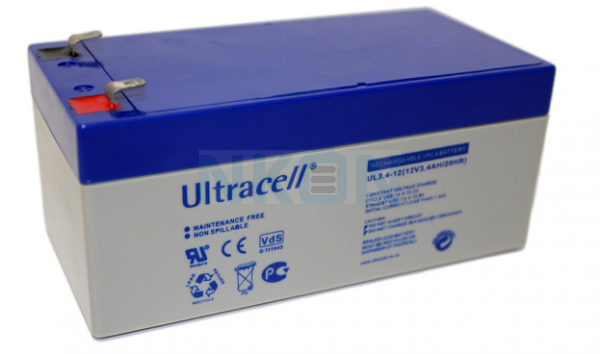 Ultracell 12V 3.4Ah Lead acid