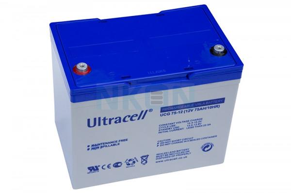 Ultracell Deep Cycle 12V 75Ah Lead battery