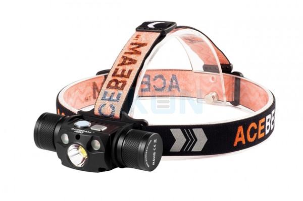 Acebeam H30 Headlamp Neutral White (5000K) + Nichia UV LED