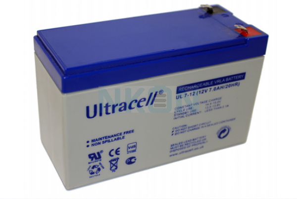 Ultracell 12V 7.0Ah Lead acid