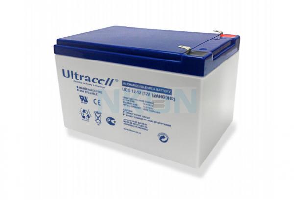 Ultracell Deep Cycle 12V 12Ah Lead acid