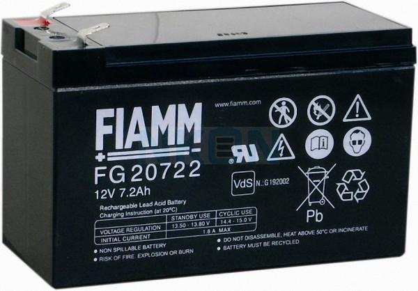 Fiamm FG 12V-7.2 (6,3mm) Lead Acid
