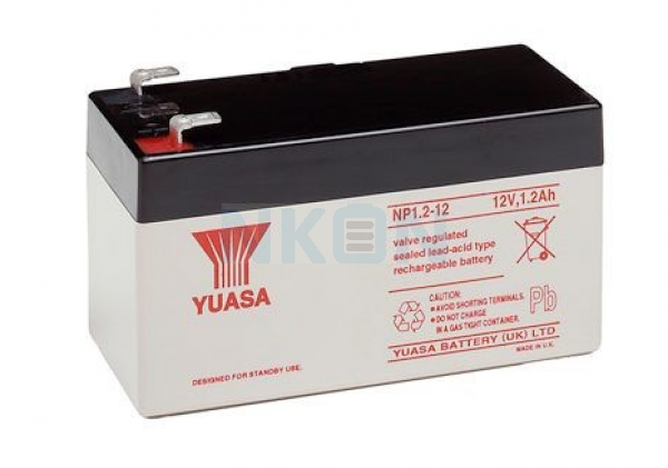 Yuasa 12V 1.2Ah Lead acid battery