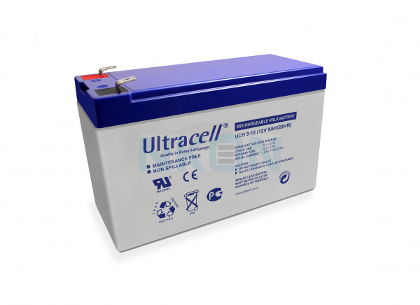 Ultracell Deep Cycle 12V 9Ah Lead Acid