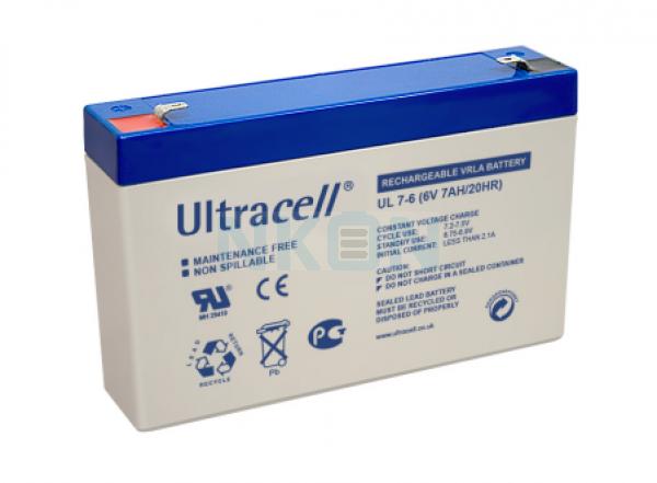 Ultracell 6V 7Ah Lead acid