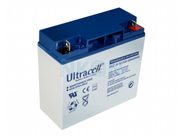 Ultracell Deep Cycle 12V 20Ah Lead acid
