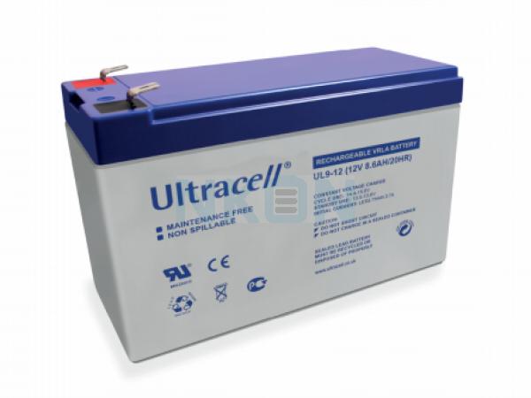 Ultracell 12V 9Ah Lead acid