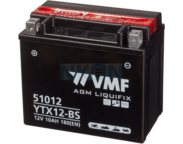 VMF Powersport MF 12V 10Ah Lead acid battery