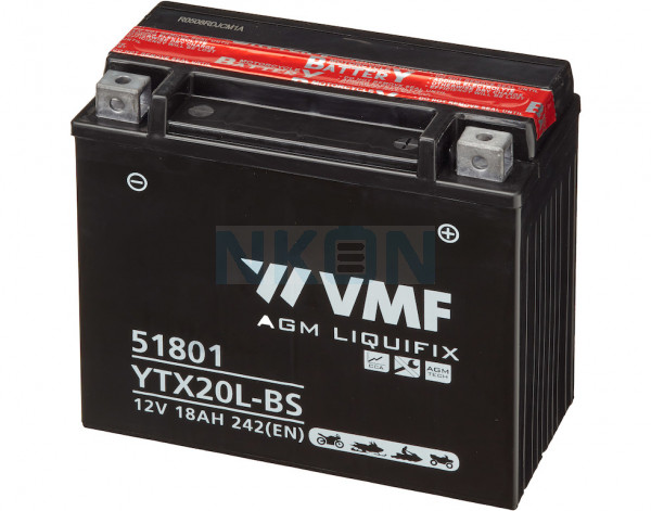 VMF Powersport MF 12V 18Ah lead battery