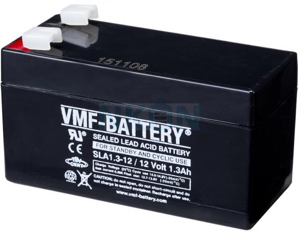 VMF 12V 1.3Ah lead battery