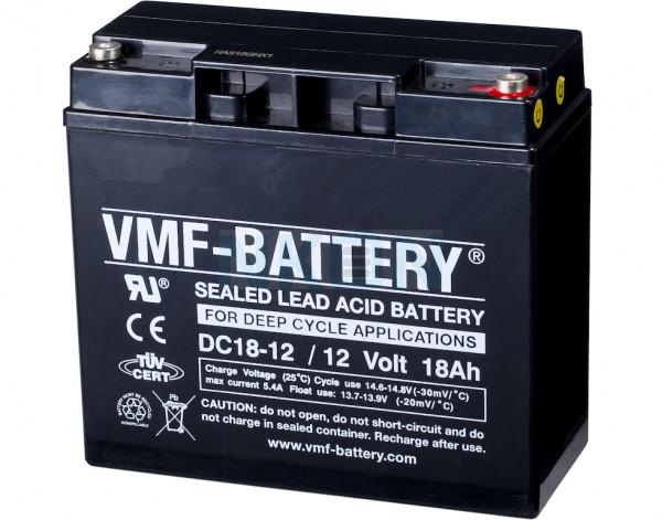 VMF Deep Cycle 12V 18Ah lead-acid battery