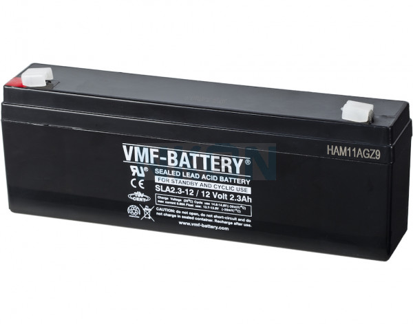 VMF 12V 2.3Ah lead battery