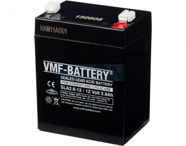 VMF 12V 2.9Ah lead-acid battery