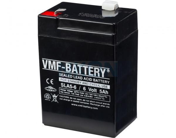 VMF 6V 5A lead-acid battery