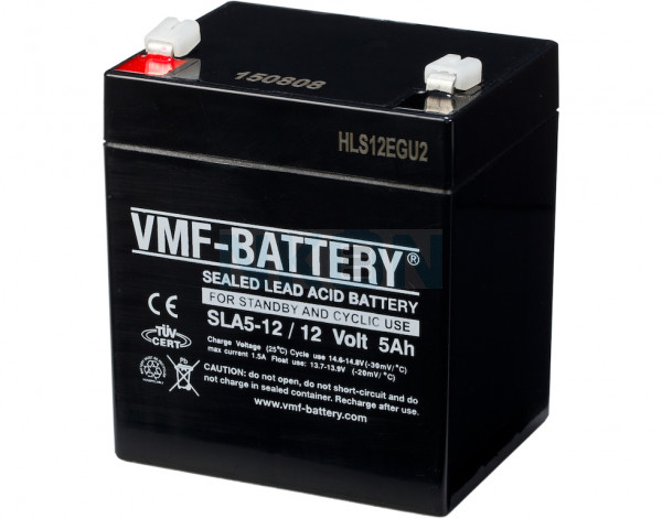 VMF 12V 5Ah lead battery
