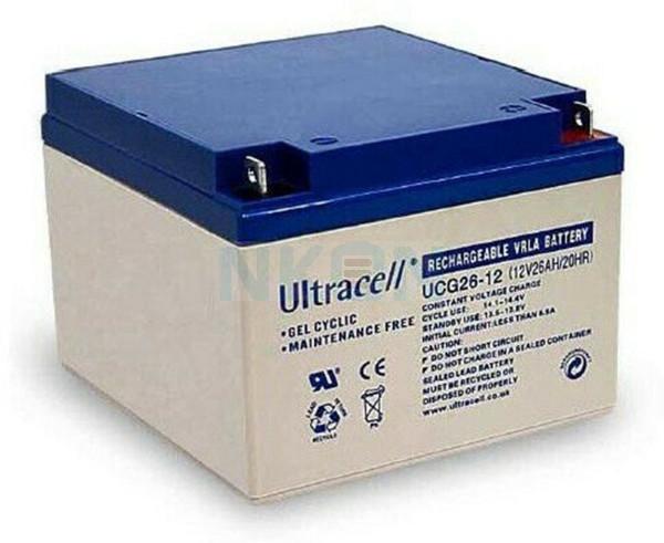 Ultracell Deep Cycle Gel 12V 26Ah Lead acid