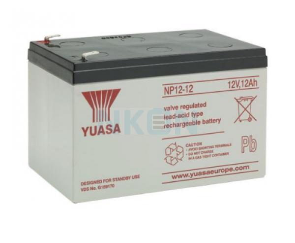 Yuasa 12V 12Ah lead battery