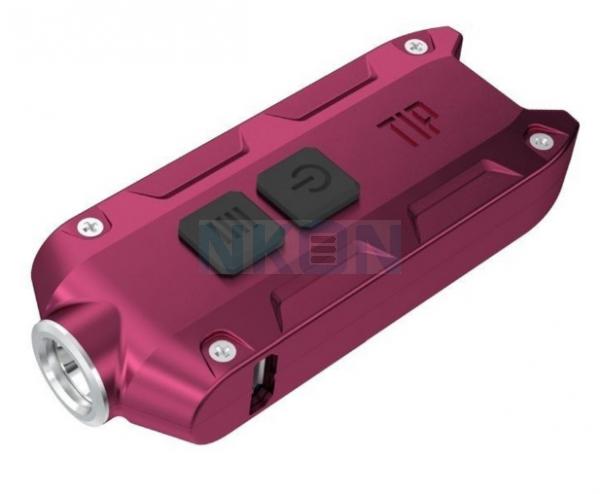 Nitecore Tip - Keychain Light - Red - 360 Lumen