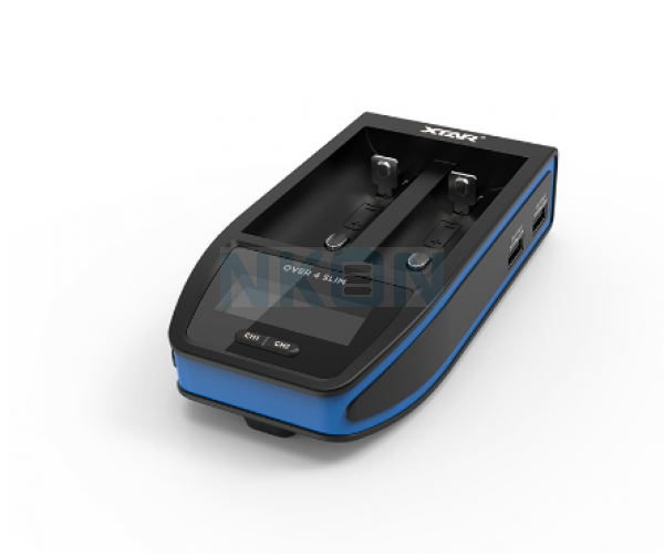 XTAR Over 4 Slim battery charger