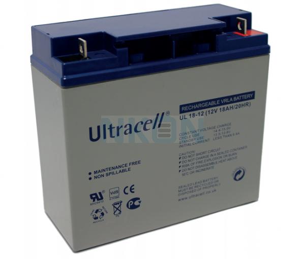 Ultracell 12V 18Ah Lead acid