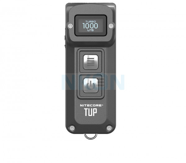 Nitecore TUP - 1000 Lumens Keychain lamp rechargeable EDC - Gray