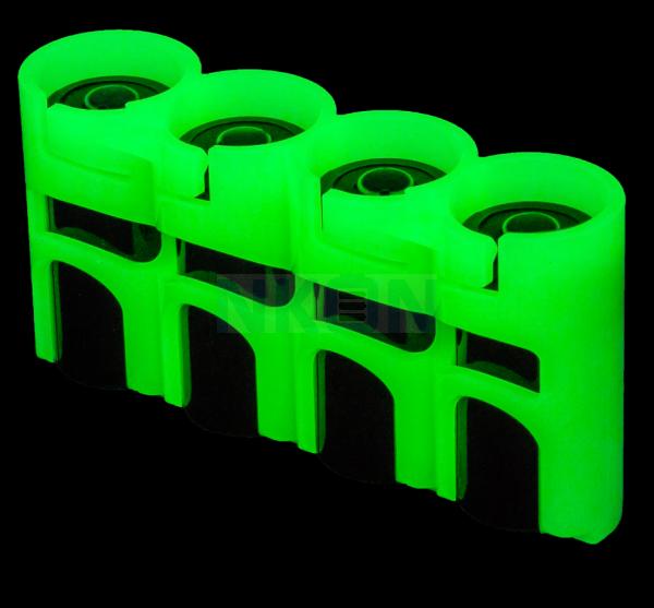 4 CR123A Powerpax Battery case - glow in the dark
