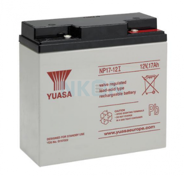 Yuasa 12V 17Ah lead battery