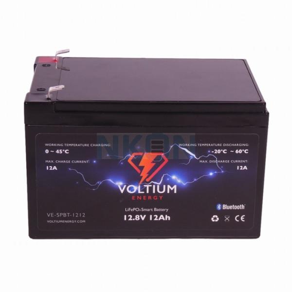 Voltium Energy 12.8V 12Ah - LiFePo4 (lead-acid battery replacement)