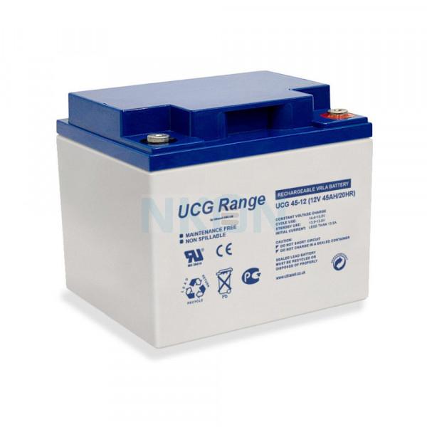 Ultracell Deep Cycle Gel 12V 45Ah Lead battery