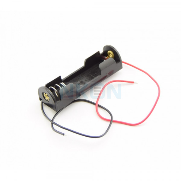 1x AA Battery holder with wires