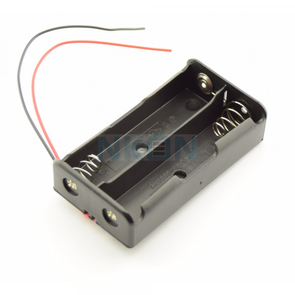 2x 18650 Battery holder with wires