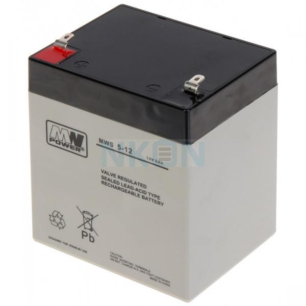 MWPower 12V 5Ah Lead battery
