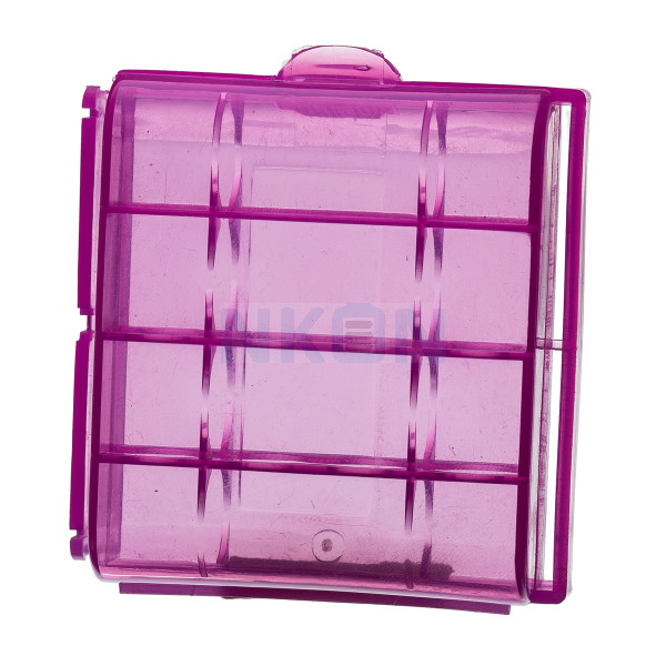 Color Battery case for 4 AA/AAA batteries