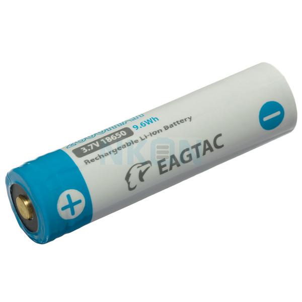 EagleTac 18650 2600mAh (protected) - 4A