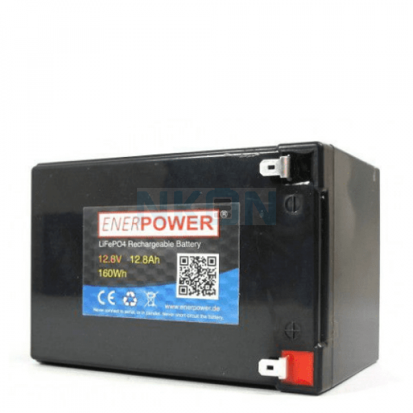 Enerpower 12.8V 12.8Ah - LiFePo4 (replacement of lead battery)