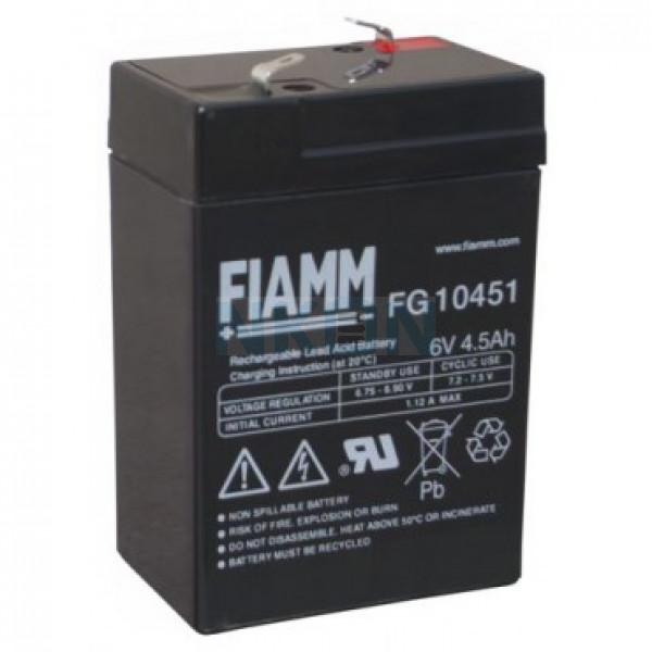 Fiamm FG 6V 4,5Ah Lead Acid
