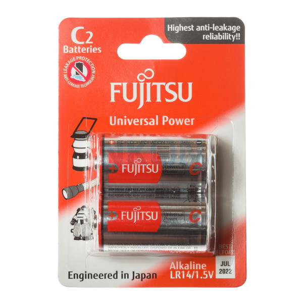 2 C Fujitsu Alkaline
