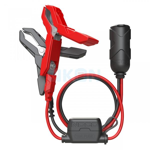 Noco Genius GC017 12 Volt plug with battery terminals