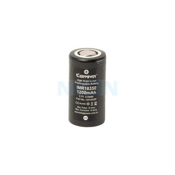 Keeppower IMR 18350 1200mAh - 10A