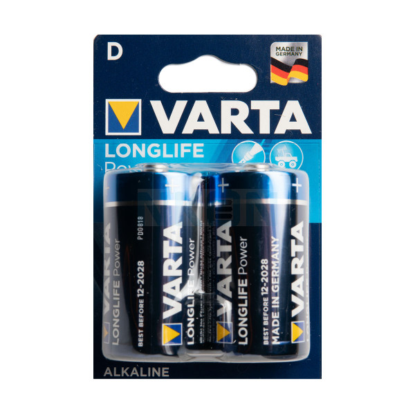 2x D Varta Longlife Power - 1.5V