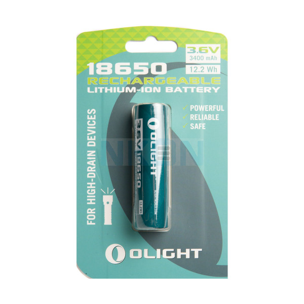 Olight 18650 3400mAh battery for M-serie