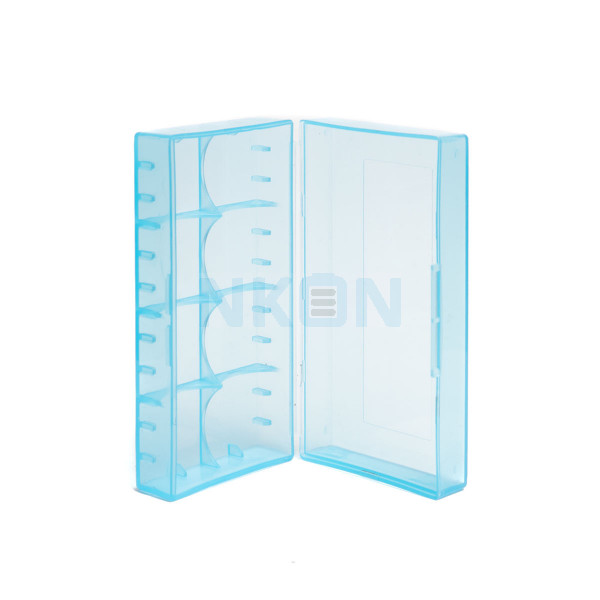2x 18650 or 4x 18350 battery case BLUE