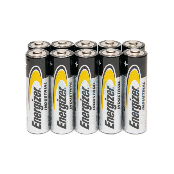 10 AA Energizer industrial
