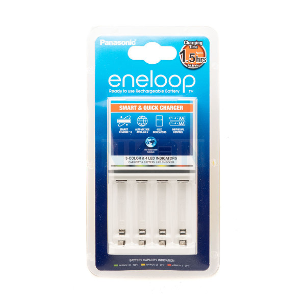 Panasonic Eneloop BQ-CC55 battery charger (without batteries)