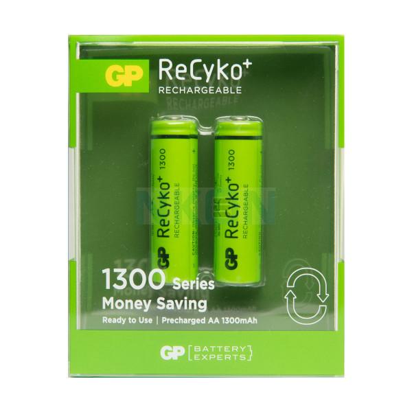 2 AA GP ReCyko+ 1300 - blister - 1300mAh