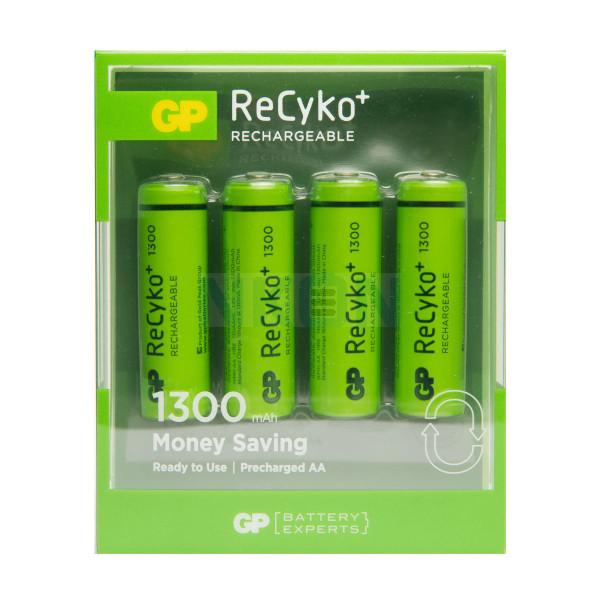 4 AA GP ReCyko+ - blister - 1300mAh