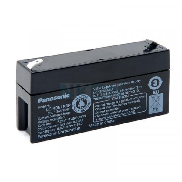 Panasonic 6V 1.3Ah Lead acid