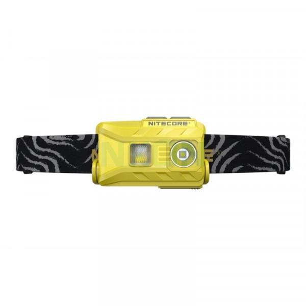 Nitecore NU25 - Headlamp - USB rechargeable - Yellow