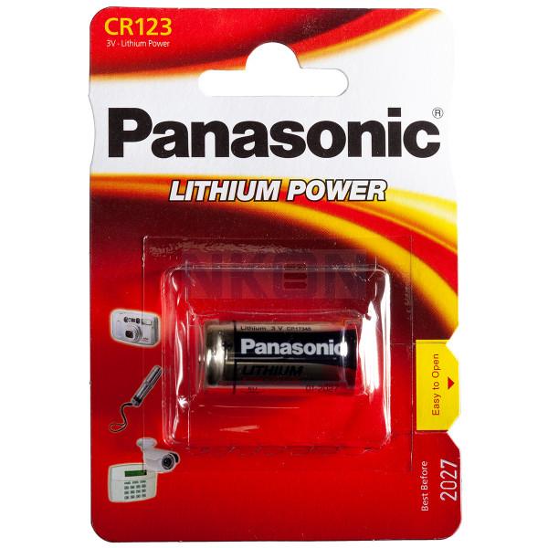 CR123A Panasonic Photo Power - blister - 3V